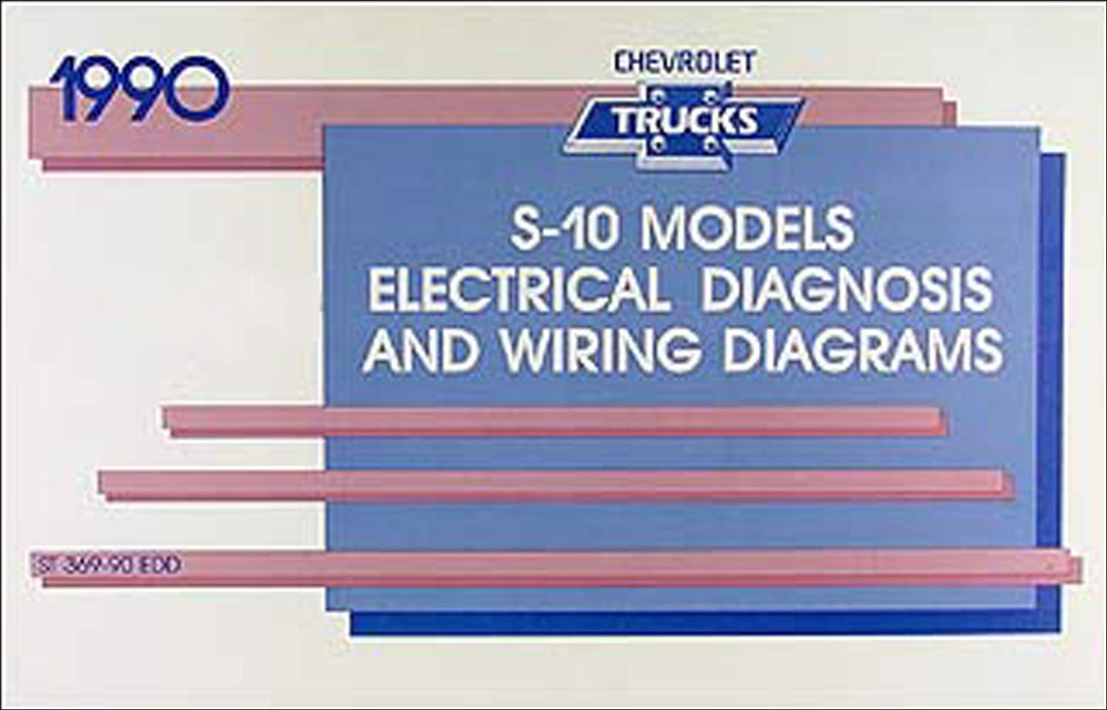 [FPWZ_2684]  1990 Chevy S-10 Pickup & Blazer Wiring Diagram Manual Original: Chevrolet:  Amazon.com: Books | 1990 Silverado Wiring Diagram |  | Amazon.com