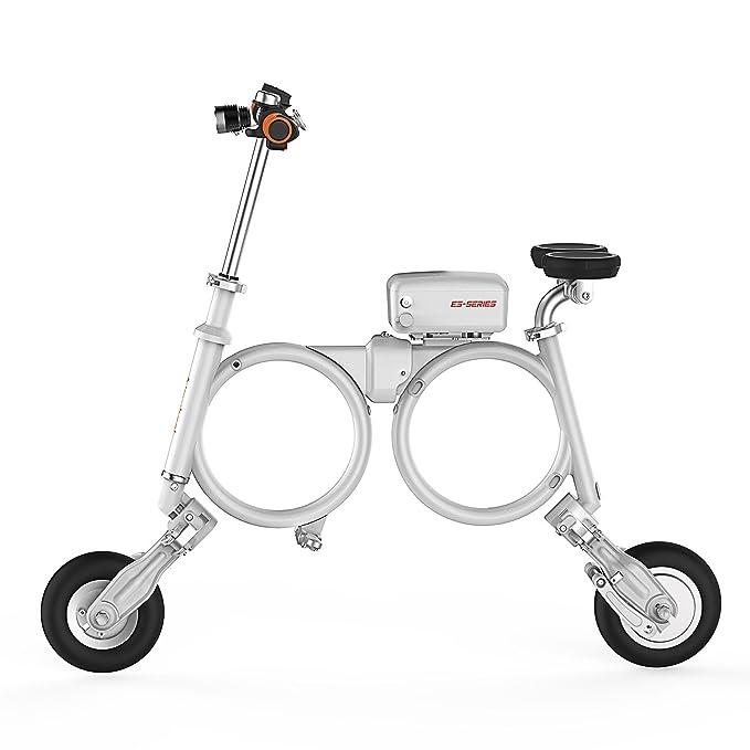 Airwheel Patinete eléctrico Plegable para Hombre E3, Talla M, Hombre, E3, Negro, Medium: Amazon.es: Deportes y aire libre