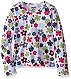 Hot Chillys Youth Pepper Skins Print Crewneck, Flower Power, X-Large