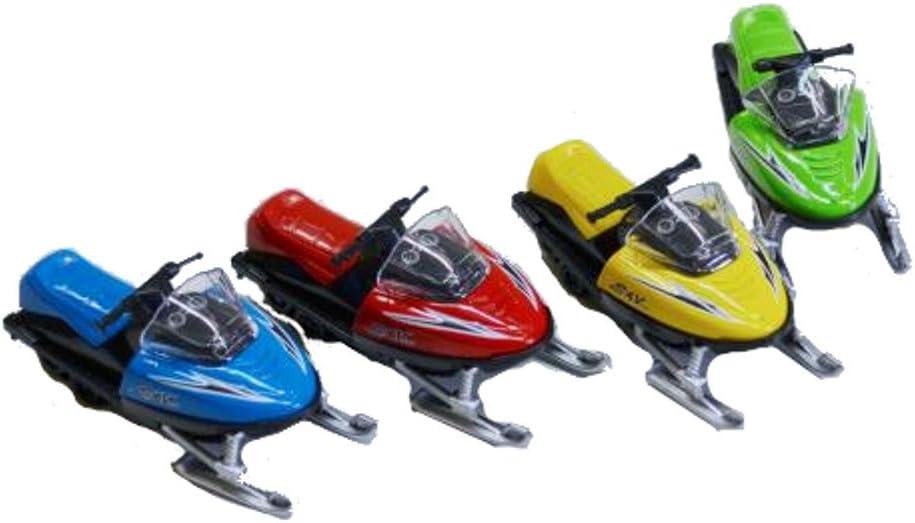 Die-cast Snowmobile Toy 1-pc Random Color