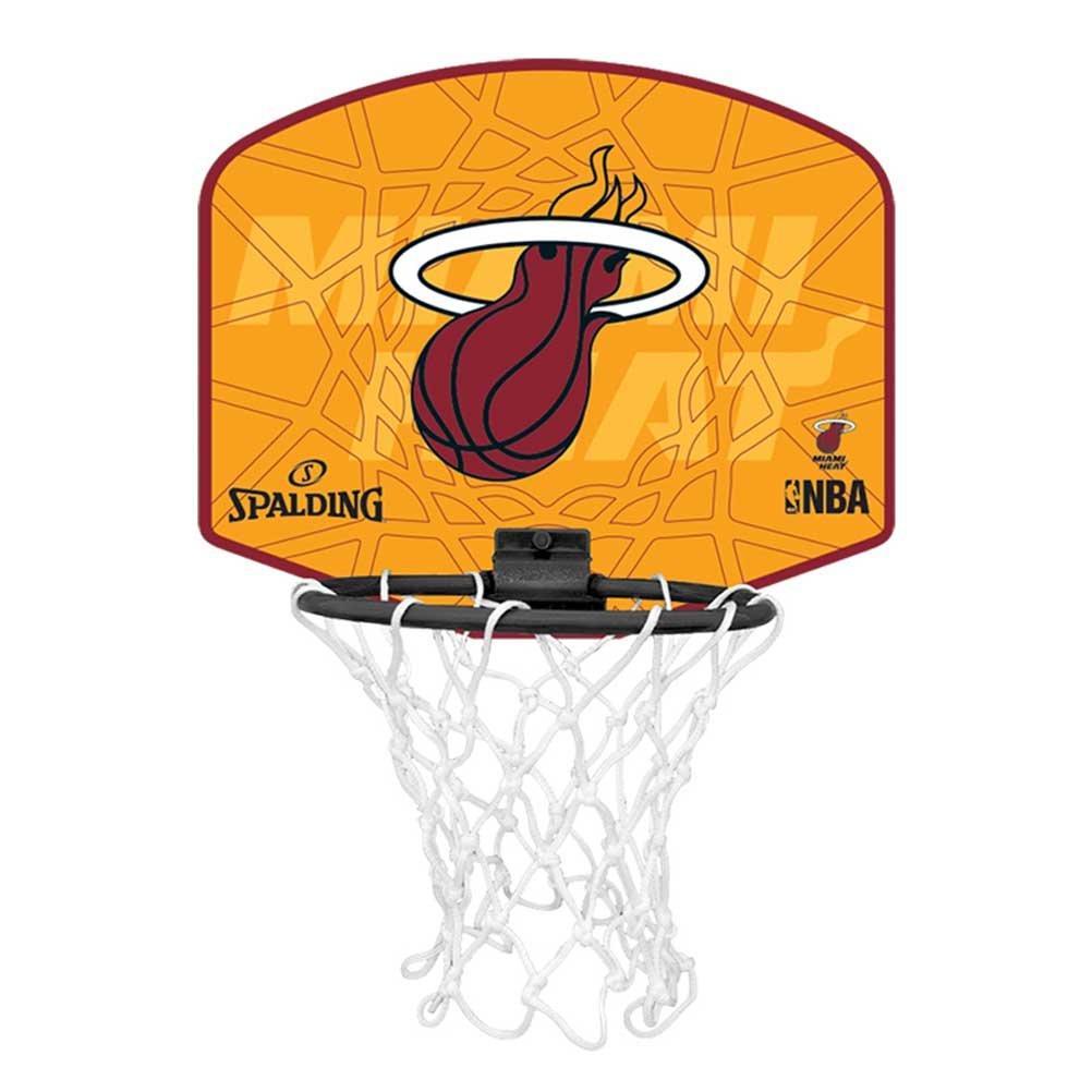 Spalding NBA MINIBOARD MIAMI HEAT (77-626Z) Spalding Miniboard Miami Heat Mehrfarbig One size 3001588012217