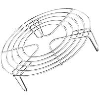 Hemoton Rejilla para Vaporizador de Acero Inoxidable Rejilla de Enfriamiento Redonda Rejilla para Trivet Soporte para…