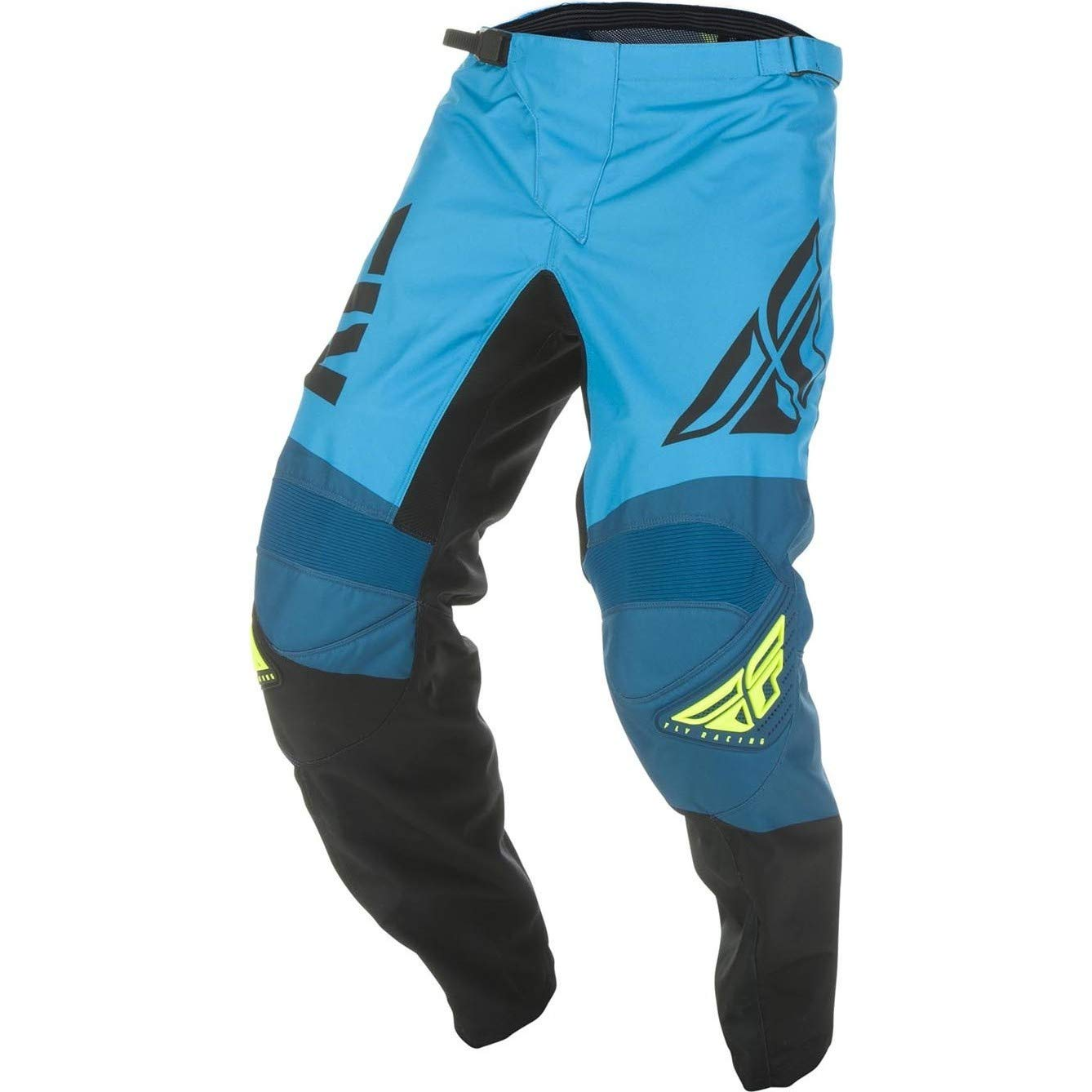 Yellow//White//Navy Fly Racing 2019 F-16 Pants 36