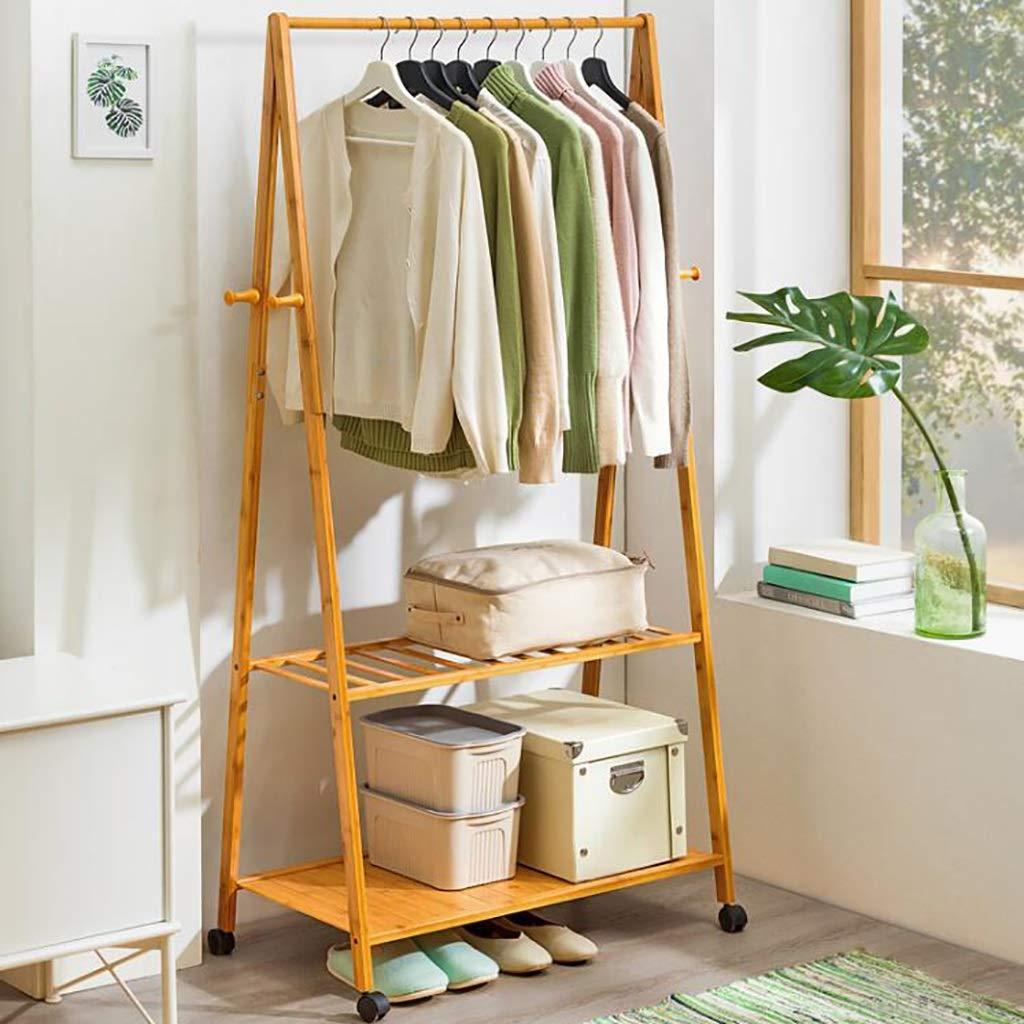 C 6040165cm Coat Stand,Housewares Standing Coat and Hat Rack Bamboo Wooden Creative Storage Shelves Hanger