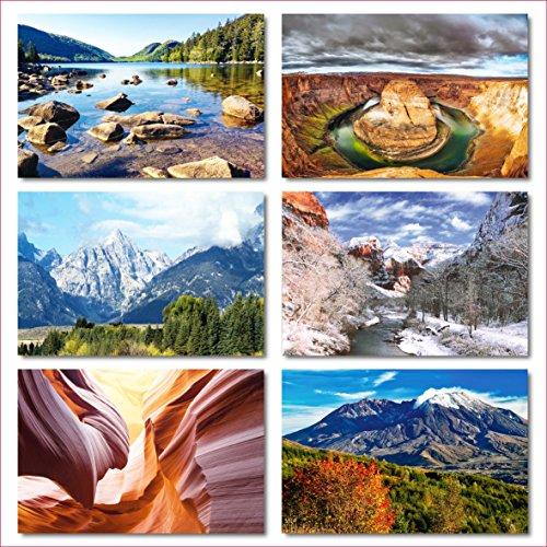 US National Parks postcards pack - Set of 25 individual postcards featuring America's national parks and natural landmarks Photo #6