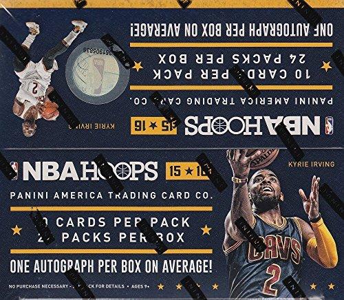PANINI NBA Basketball 2015-16 NBA Hoops Trading Card Reta...