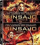 Pack Los Juegos Del Hambre: Sinsajo 1 + 2 [Blu-ray]