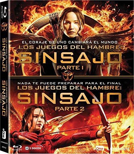 Pack Los Juegos Del Hambre Sinsajo 1 + 2 Blu-Ray Blu-ray: Amazon ...