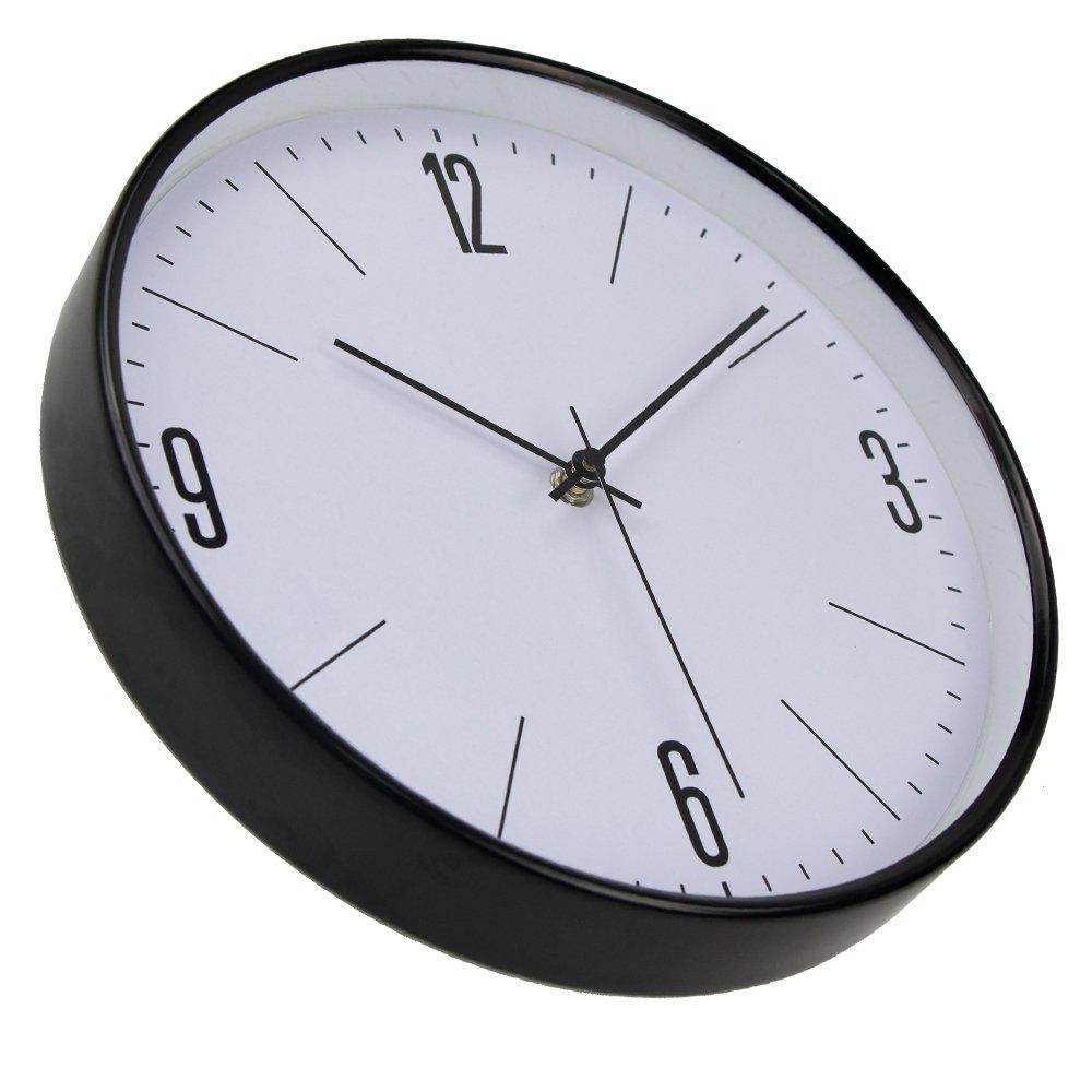 Amazon.com: FunnyToday365 Vintagemetal Wall Clock Clock Quartz Reloj De Pared Modern Wandklok For Living Room: Home & Kitchen