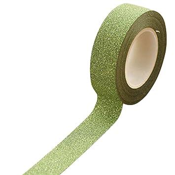 Glitzer Band Papier selbstklebend  Aufkleben klebend Basteln