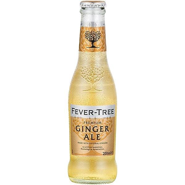 Fever Tree Ginger Ale, 24 x 20 cl: Amazon.es: Alimentación y ...