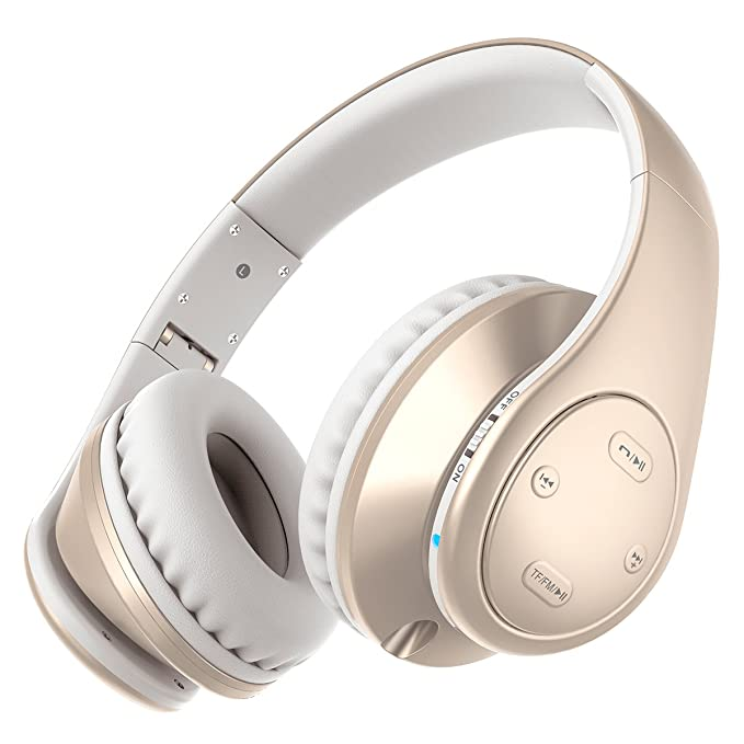 66a627ce93e Picun P7 Bluetooth Headphones Wireless Foldable Noise Reducing Headsets  With Mic and Volume Control for Kids