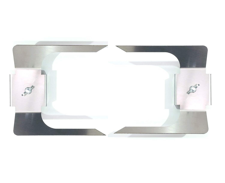 77.009 Coppia Forchette Fermacarne ACCIAIO INOX Perez Metal Designer