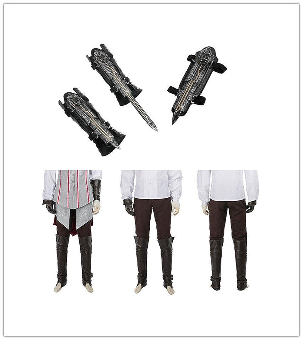 Amazon.com: Assassins Creed II Ezio Auditore Cosplay Costume ...