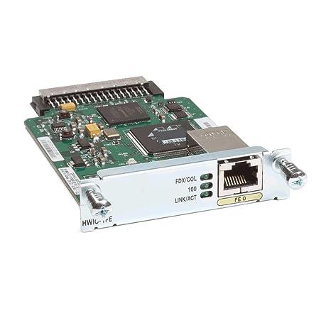 Amazon.com: Cisco HWIC-1FE 1-Port Fast Ethernet High Speed ...