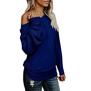 8b71c2bc57 Price Trend Womens Strapless Classic Long-Sleeved Solid Color V-Neck Knit  Loose Sweater