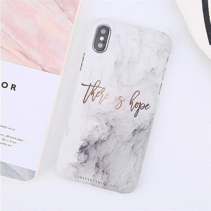 Carcasa para iPhone 8 y 7 Plus, diseño de Piedras de mármol ...