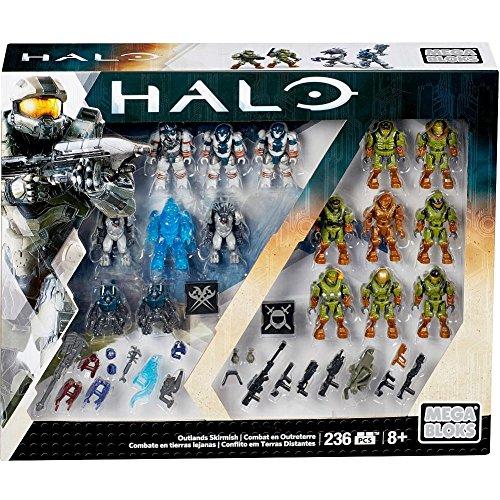 Mega Construx Halo Exclusive Outlands Skirmish Set (Discontinued by Manufacturer)