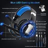 BlueFinger LED Gaming Keyboard Mouse Headset
