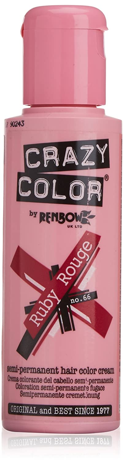 Crazy Color Hair Color Cream Number 66,Ruby Rouge 100 ml 9321