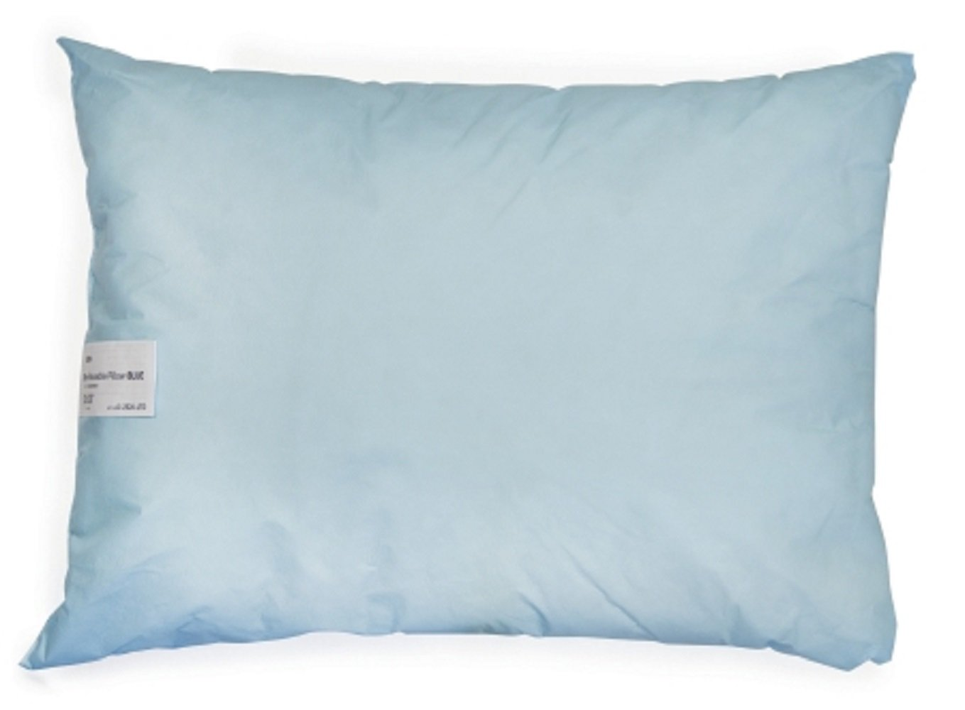 McKesson - Bed Pillow - 20 X 26 Inch - Blue - Reusable - Olefin Cover - 12/Case - McK
