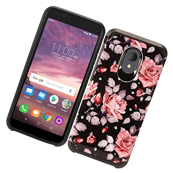Fit Alcatel Avalon V, TCL LX Case, Phonelicious Alcatel 1x Evolve, Alcatel  IdealXtra Phone Cover Dual Layer Rugged Hybrid Slim Fit with Screen