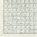 Andersen 280 Waterhog Fashion Polypropylene Fiber Entrance Indoor/Outdoor Floor Mat, SBR Rubber Backing, 5-Feet Length X 3-Feet Width, 3/8-Inch Thick, White
