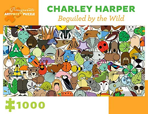 Charley Harper Beguiled by the Wild 1000-Piece Jigsaw