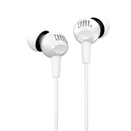 1604a350894 JBL C100SI In-Ear Headphones with Mic (White): Buy JBL C100SI In-Ear  Headphones with Mic (White) Online at Low Price in India - Amazon.in