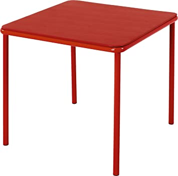 Cosco Products Kid S Vinyl Top Table Red