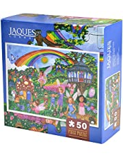 Magical Fairy Garden Puzzle - Fairy Garden 50 Piece Jigsaw Puzzle 2018 - A Great Puzzles for 5 year olds - 50 Pieces