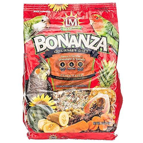 L/M Animal Farms Cockatiel Bonanza Gourmet Diet 20lb Bonanza Cockatiel Gourmet Diet