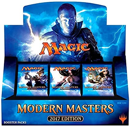 Magic: The Gathering: 2017 Modern Masters Booster Box Factory Sealed
