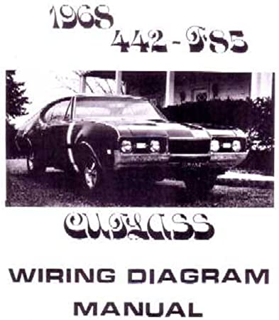cutlass wiring diagram amazon com bishko automotive literature 1968 oldsmobile 442  amazon com bishko automotive