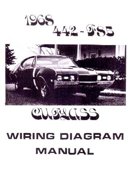 amazon com: bishko automotive literature 1968 oldsmobile 442 cutlass f-85 electrical  wiring diagrams schematics manual: automotive