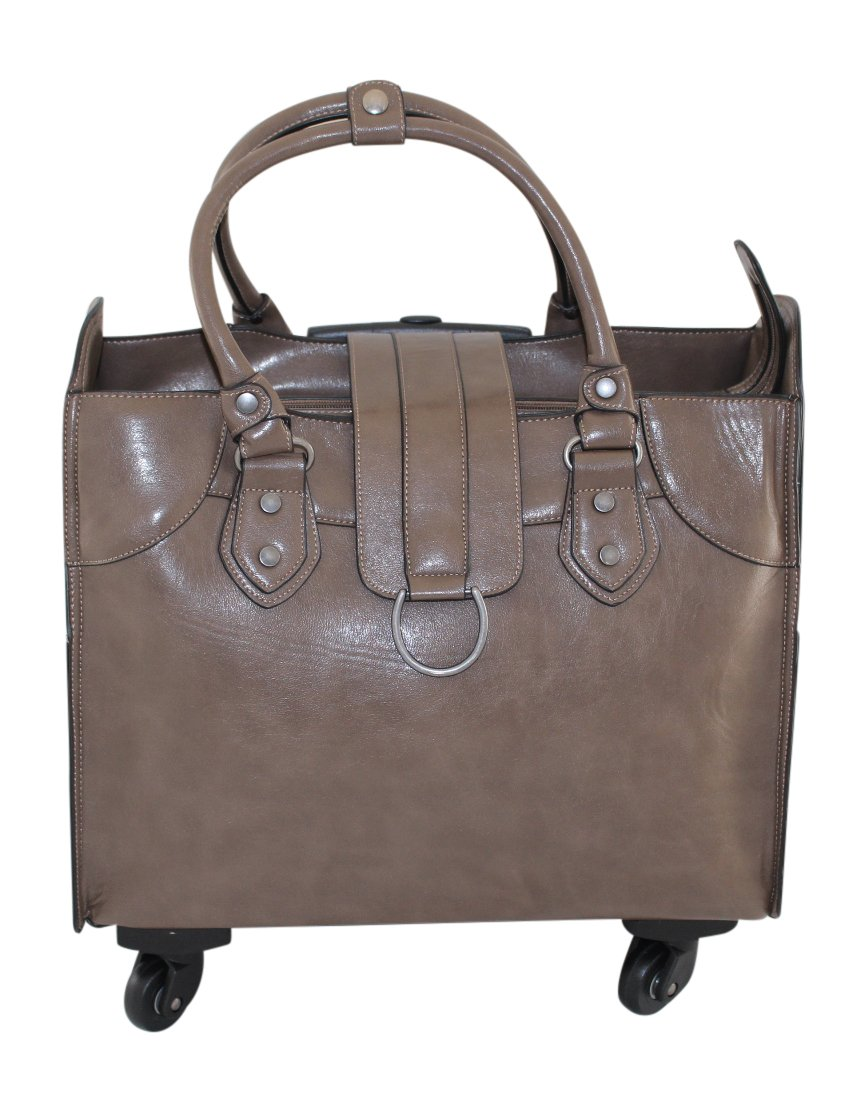 Simply Noelle Saddle Roller Bag, Taupe by Simply Noelle (Image #2)