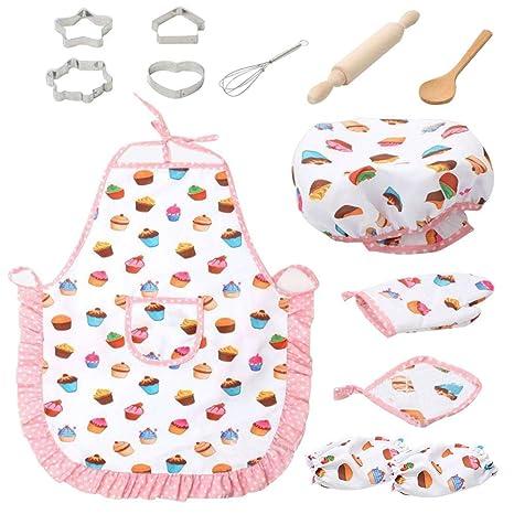 Mona43Henry Chef De Cocina Conjunto De Niños Juegos De Rol Traje ...