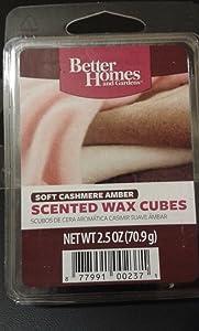 Better Homes Wax Cubes - Soft Cashmere Amber