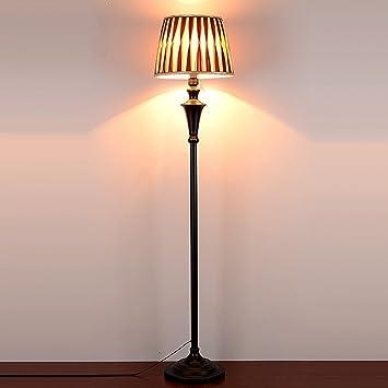 NAUY- Vertical lámparas de pie nórdicas Simple moderna sala ...