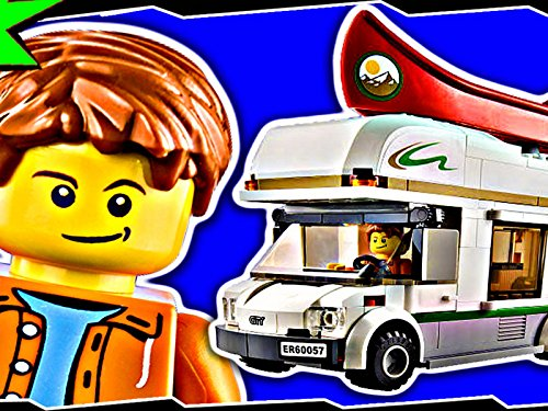 Clip: Camper Van (Lego City Great Vehicles Van And Caravan)