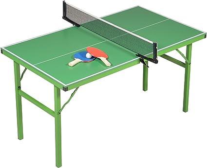 JT2D Mesa de Ping-Pong Plegable – Verde con o sin Motivos para Elegir – Mesa de Tenis de Mesa (Verde): Amazon.es: Deportes y aire libre