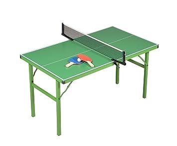 JT2D Mesa de Ping-Pong Plegable - Verde con o sin Motivos para ...