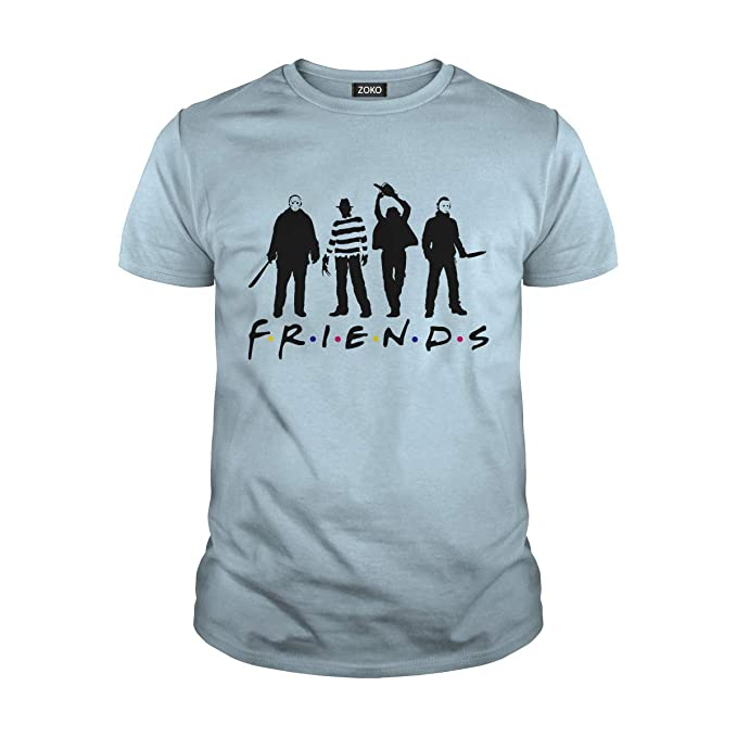 Halloween Friends Shirt.Zoko Apparel Horror Halloween T Shirt