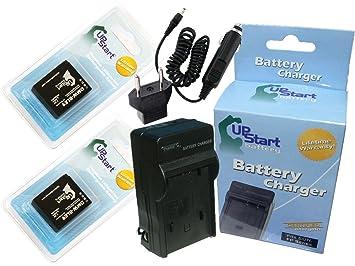 Amazon.com: 2 x Pack – Panasonic DMW-BLG10 de la batería + ...
