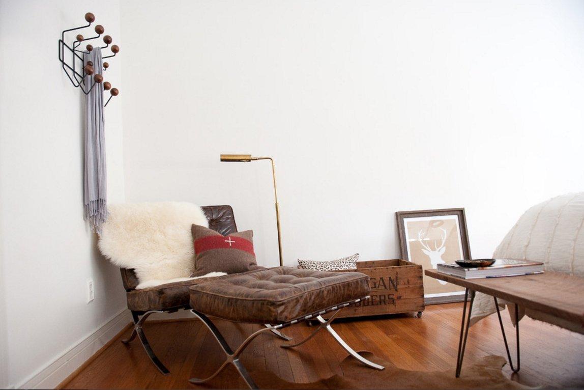 LCH Eames Colgar It Todos réplica, montado en la pared ...