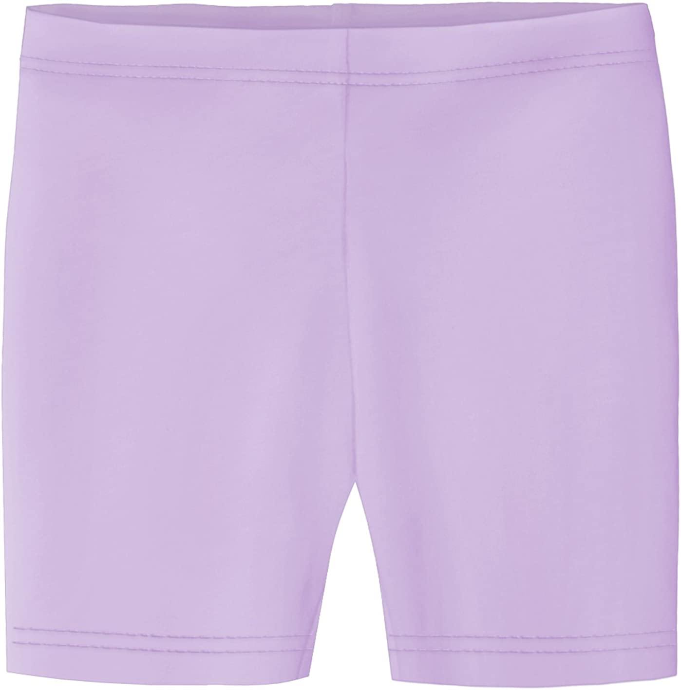 City Threads Little Girls Underwear Bike Shorts in All Cotton Perfect for SPD and Sensitive Skin Sports Dance School Uniform Lavender 2T