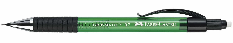 Faber-Castell 137763 gr/ün Druckbleistift Grip Matic 1377 0,7 mm