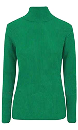 Janisramone - Jerséi - para mujer verde Jade Green Más Talla