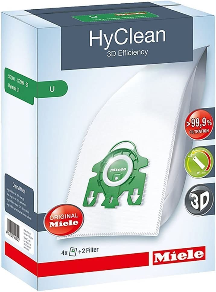 Genuine MIELE U HYCLEAN Hoover DUST BAGS /& FILTERS S7260
