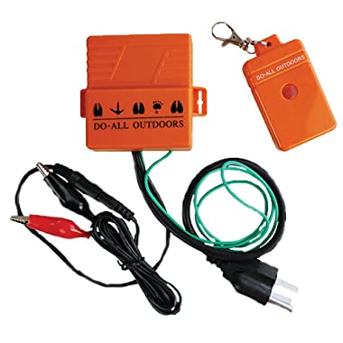 Do-All Outdoors Single Wireless Remote for All Auto Clay Pigeon Thower Traps, 300ft Range